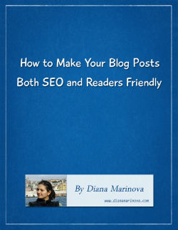 Free White Paper - How to Make Your Blog Posts SEO and Readers Friendly