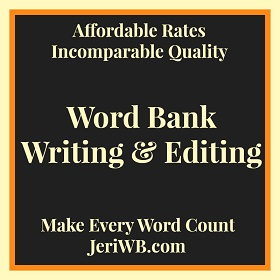 JeriWB - Professional Editing Services