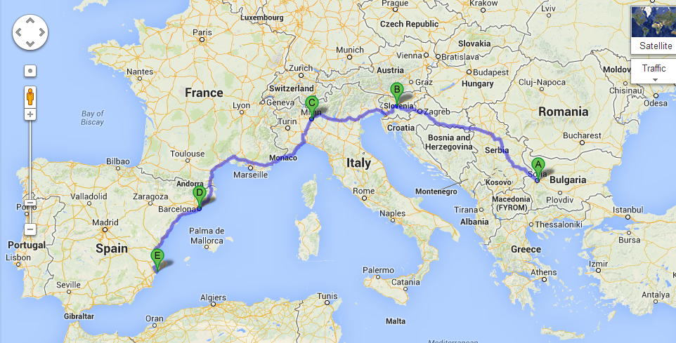 Relocation to Spain Trip