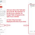 Where to find Google Tasks
