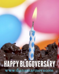 Happy Blogoversary to Diana Freelance and Marketing Blog