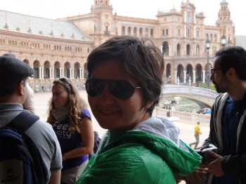 Thats me - Easter in Seville