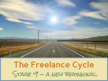 Freelance cycle - stage 9 - a new beginning