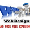Poor User Experience and Website Design