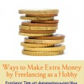 Ways to Make Extra Money by Freelancing as a Hobby