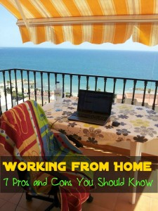7 Working from Home Pros and Cons