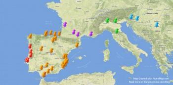 PictraMap travel map - freelance life updates