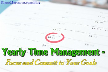 The Big Picture of Yearly Time Management
