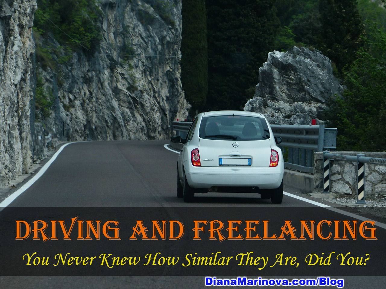 You Never Knew How Similar Driving and Freelancing Are