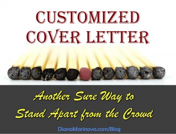 Customized Cover Letter - Another Sure Way to Stand Apart from the Crowd
