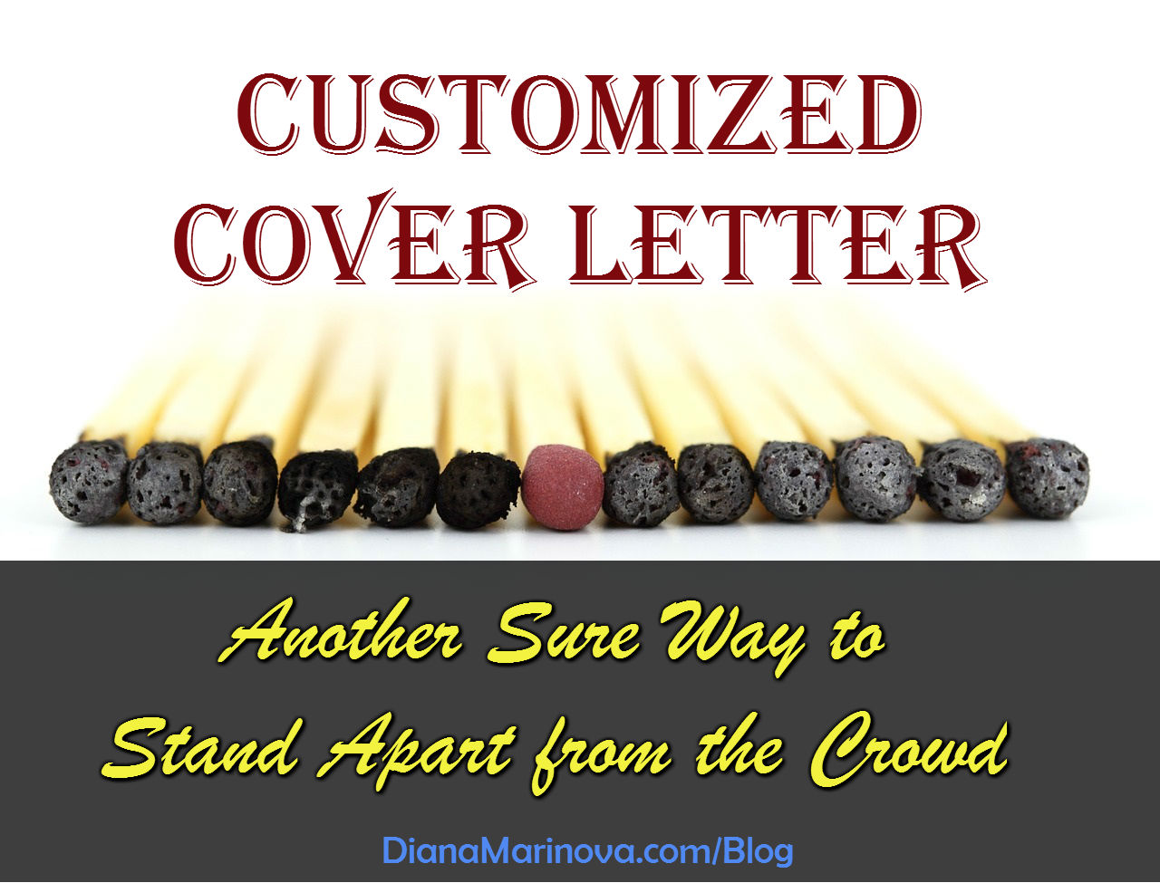 Customized cover letter a sure way to stand apart from the crowd customized cover letter another sure way to stand apart from the crowd madrichimfo Images