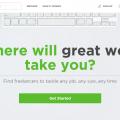 Upwork Homepage