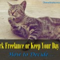 Work Freelance or Keep Day Job - How to Decide