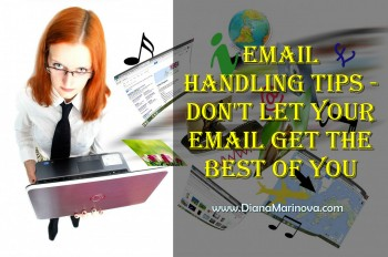 Email Handling - Don't Lose Control over Your Email