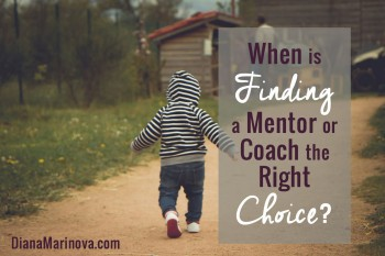 When Is Finding a Mentor or Coach the Right Choice?