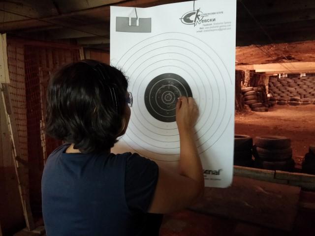Diana's target