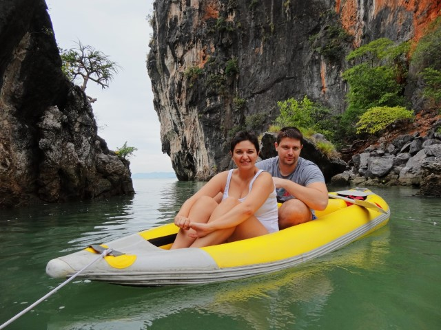 On the way to James Bond Island in Phuket